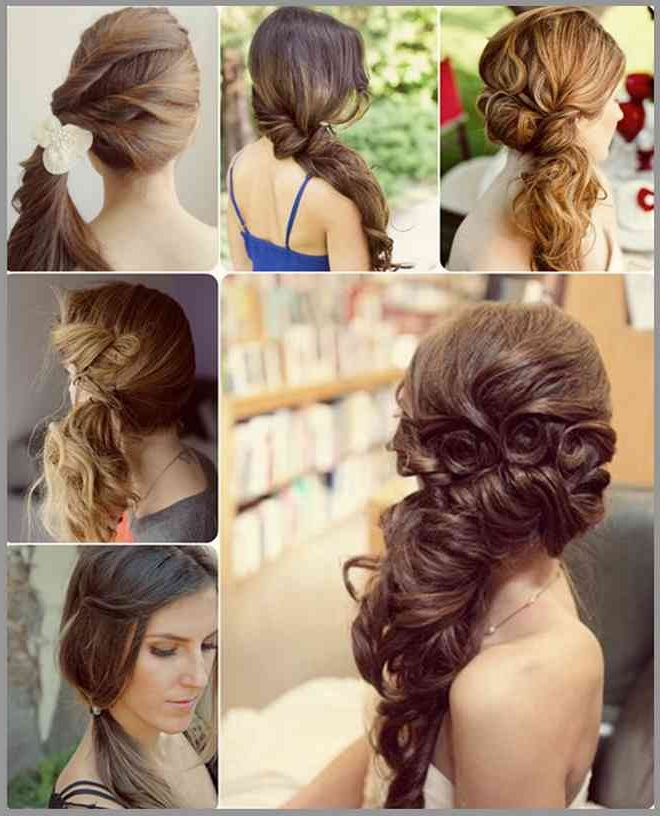 Fancy Side Pony For Medium Hair • Latest Hairstyles For Women's And Intended For Fancy And Full Side Ponytail Hairstyles (View 4 of 25)