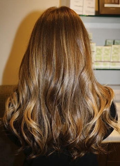 Favorite! Maple Brunette Hair Medium Brown Highlights Color Colorist For Maple Bronde Hairstyles With Highlights (View 23 of 25)