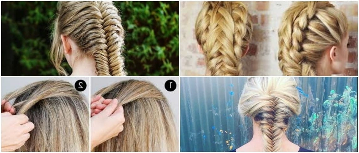 Fishtail Braid – How To Create A Beautiful Style To Flaunt Throughout Wispy Fishtail Hairstyles (View 10 of 25)