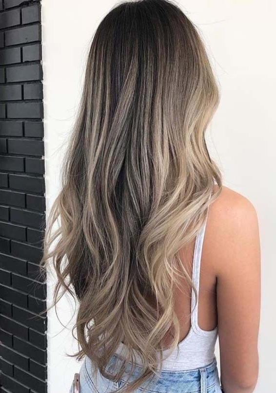 Flawless Sandy Beach Blonde Hairstyles For Women 2018 | Hair Color In Sandy Blonde Hairstyles (View 11 of 25)