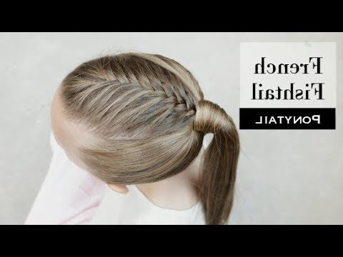 French Fishtail Ponytailholster Brands – Youtube Within Undone Fishtail Mohawk Hairstyles (View 21 of 25)