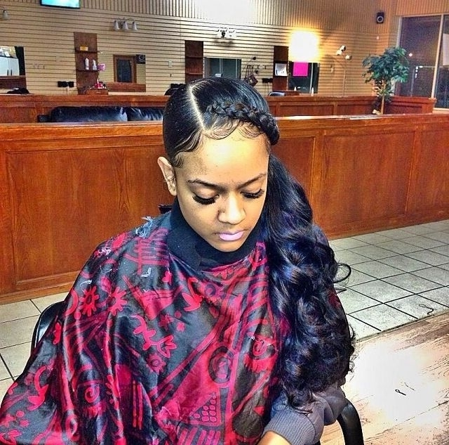 Fresh Weave Ponytail Hairstyles | Hairstyle Gallery Throughout Weave Ponytail Hairstyles (View 15 of 25)