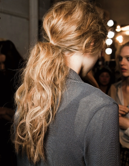 Friday Faves: Hair And Makeup Trends Spring 2015 | Movie | Pinterest With Pumped Up Messy Ponytail Hairstyles (View 3 of 25)