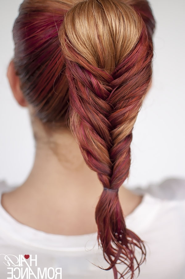 Get Ready Fast With 7 Easy Hairstyle Tutorials For Wet Hair - Hair in Dyed Simple Ponytail Hairstyles For Second Day Hair
