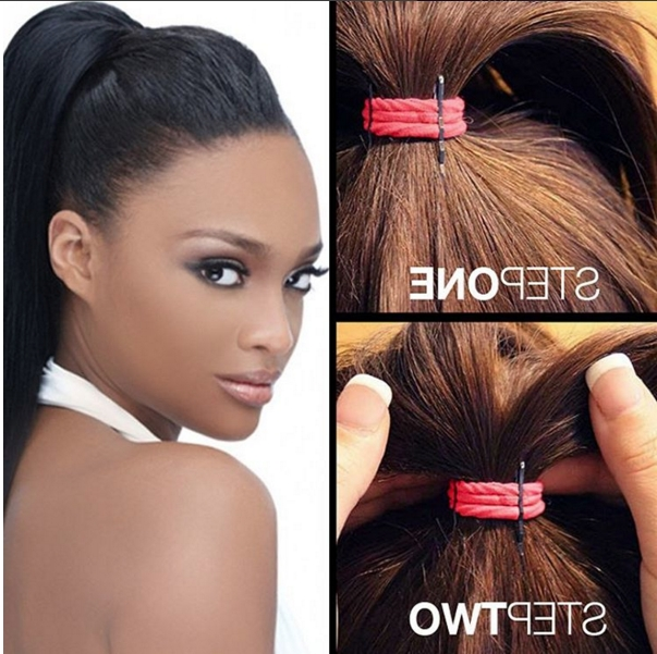 Get That High And Voluminous Ponytail In 2 Steps - Onobello with regard to High Voluminous Ponytail Hairstyles