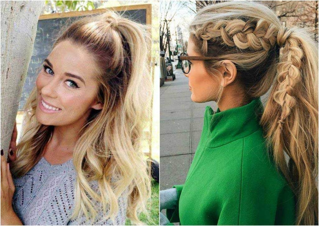 Glam Ponytail Hairstyles – Hairstyles In Glam Ponytail Hairstyles (View 14 of 25)