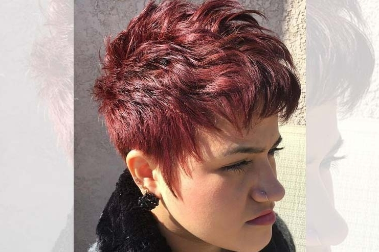 Glamorous Pixie Cut For Style And Elegance throughout Most Up-to-Date Imperfect Pixie Hairstyles