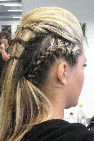 Glamorous Rockstar Hairstyles! | Hair - Long Styles | Pinterest regarding Rockstar Fishtail Hairstyles