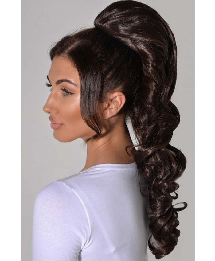 Glamour Ponytail Hair Piece – Krystellie Fashion Inside Glamorous Pony Hairstyles (Gallery 11 of 25)