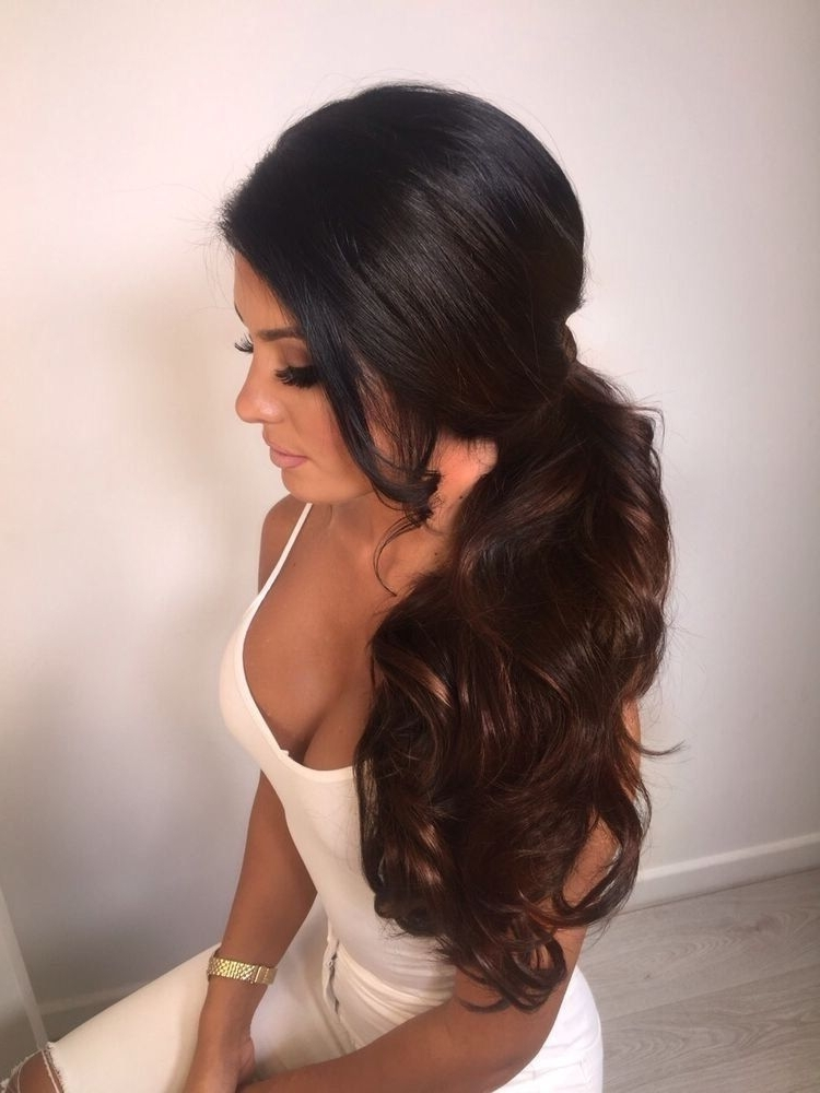 Glamour Queen | Hair! | Pinterest | Glamour, Prom Hairstyles And Intended For Glamorous Pony Hairstyles (Gallery 14 of 25)