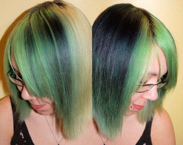 Glorious Black Hair Blonde Highlights | Medium Hair Styles Ideas – 20381 Pertaining To Blonde Hairstyles With Green Highlights (View 20 of 25)