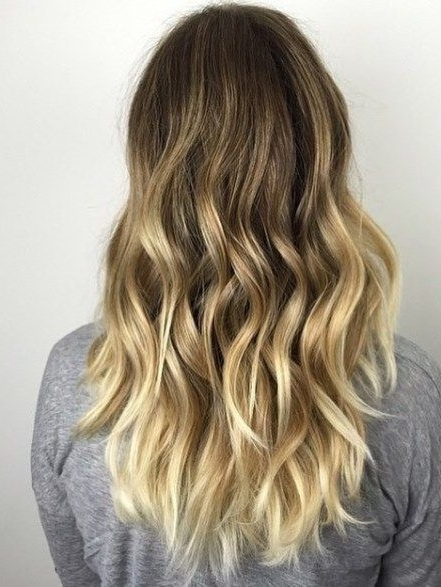Golden Blonde And Blonde Balayage  Ideas For Ash Blonde And Silver Intended For Golden Blonde Balayage Hairstyles (Gallery 16 of 25)