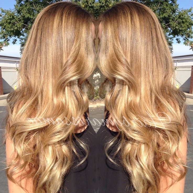 Golden Blonde Balayage – Google Search | Hair | Pinterest | Golden Intended For Golden Blonde Balayage Hairstyles (View 2 of 25)
