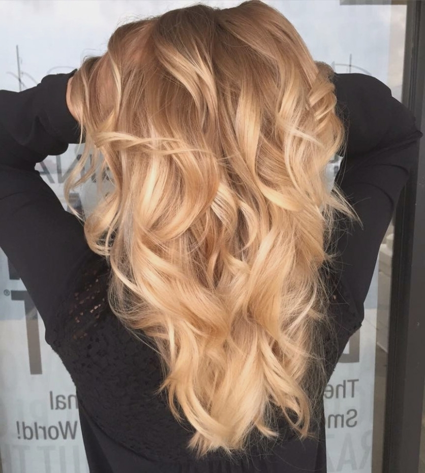 Golden Blonde Balayage | Hair Today, Gone Tomorrow… | Pinterest Regarding Golden Blonde Balayage Hairstyles (View 13 of 25)