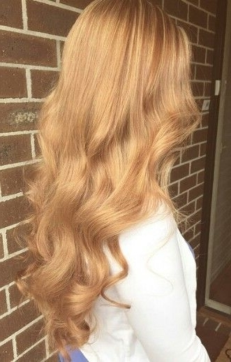 Golden Blonde | Hair Color: Gold & Honey Blonde | Pinterest | Golden Inside Amber And Gold Blonde Hairstyles (View 21 of 25)