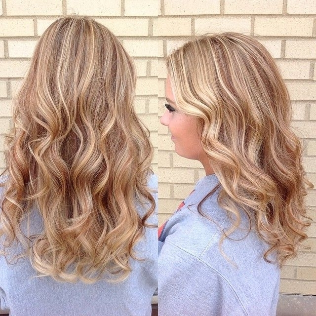 Golden Blonde Hair With Strawberry Lowlights And Platinum Highlights within Light Golden Blonde With Platinum Highlights
