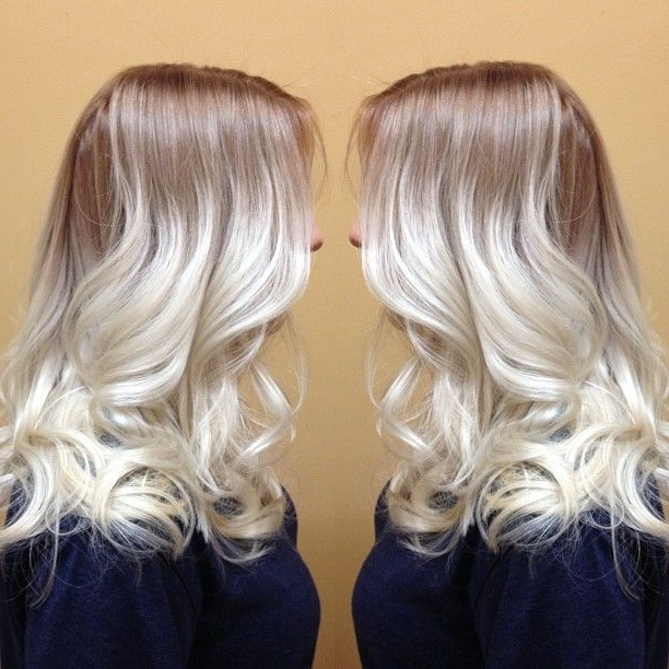 Golden Blonde Hair With White Highlights – Best Image Of Blonde Hair In White Blonde Hairstyles For Brown Base (Gallery 23 of 25)