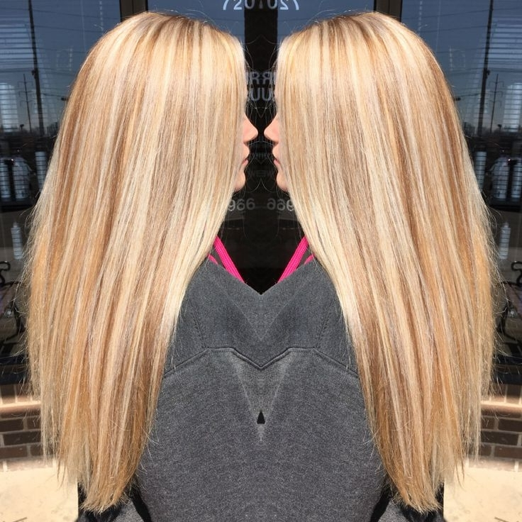 Golden Blonde Highlights On Black Hair – Hairstyles Ideas Within Light Golden Blonde With Platinum Highlights (View 19 of 25)