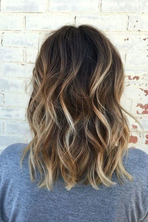 Gorgeous Brown Hairstyles With Blonde Highlights | Big Southern Hair For Light Brown Hairstyles With Blonde Highlights (Gallery 16 of 25)