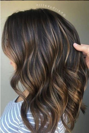 Gorgeous Brown Hairstyles With Blonde Highlights | Big Southern Hair Intended For Thin Platinum Highlights Blonde Hairstyles (Gallery 1 of 25)