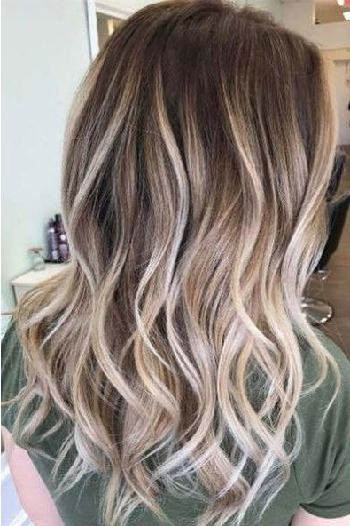 Gorgeous Brown Hairstyles With Blonde Highlights In 2018 | Hair In Light Brown Hairstyles With Blonde Highlights (Gallery 1 of 25)