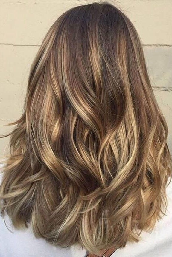 Gorgeous Brown Hairstyles With Blonde Highlights | Pinterest Regarding Buttery Blonde Hairstyles (Gallery 6 of 25)