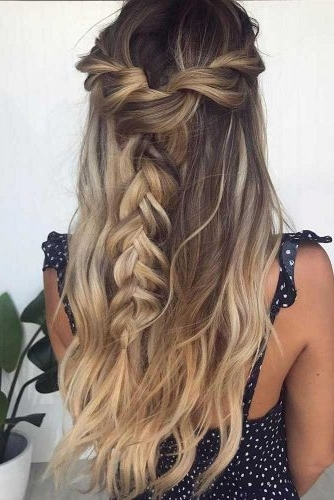 Gorgeous Ideas Of Dutch Braid Hairstyles 2018 – My Stylish Zoo In Ponytail Hairstyles With A Braided Element (View 10 of 25)