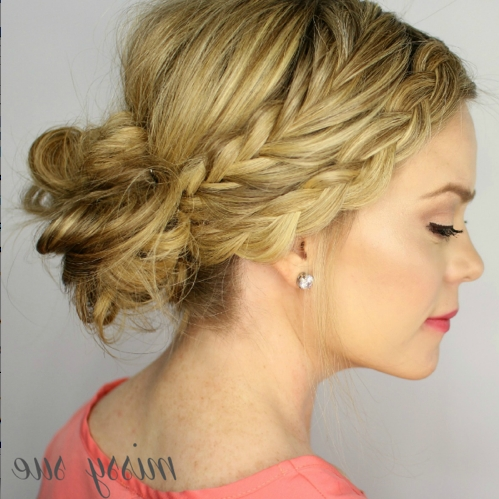 Great Hair Inspiration  Messy Sue's Fishtail And Dutch Braid For Messy Ponytail Hairstyles With A Dutch Braid (Gallery 19 of 25)