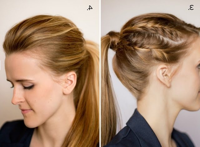 Hair And Make Upsteph: Ten Ways To Dress Up A Ponytail With Regard To Three Braids To One Ponytail Hairstyles (View 17 of 25)