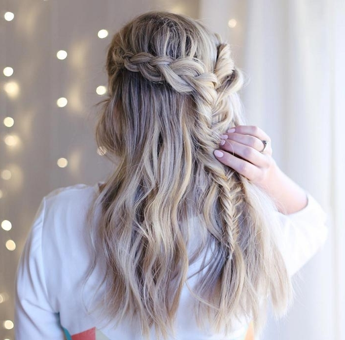 Hair Braiding Lessons: Learning How To Braid Hair Creatively Throughout A Layered Array Of Braids Hairstyles (View 17 of 25)