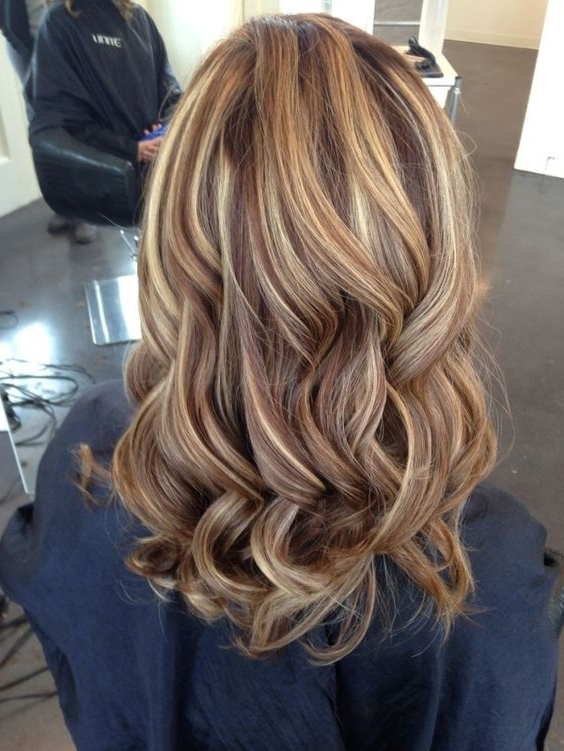 Hair Color Ideas For Women With Regard To Pearl Blonde Highlights (View 22 of 25)