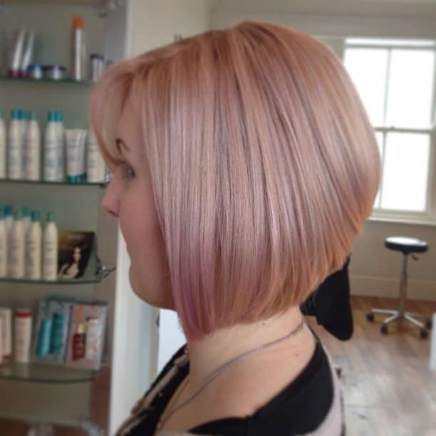 Hair Color To Try: Rose Gold Hair You Won't Miss – Pretty Designs With Most Recently Rose Gold Pixie Hairstyles (View 18 of 25)