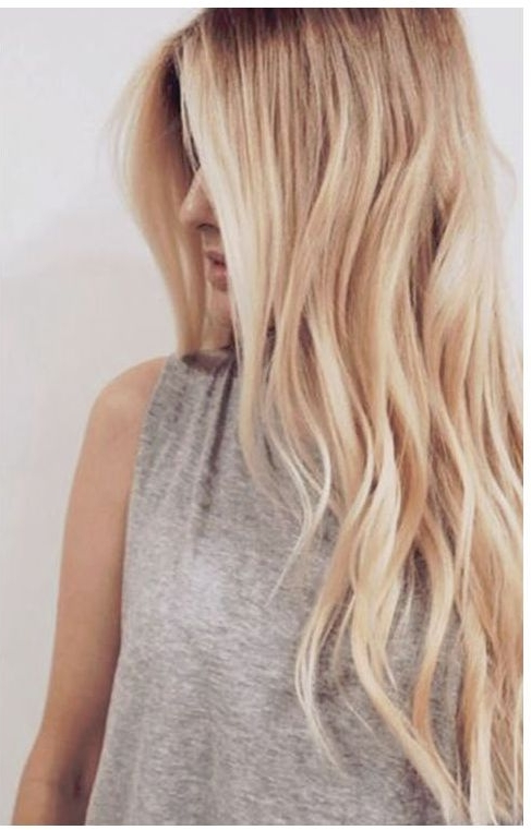 Hair Color Trends 2017/ 2018 – Highlights : Buttery Blonde More Pertaining To Buttery Highlights Blonde Hairstyles (View 23 of 25)