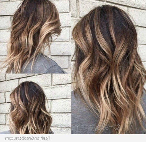 Hair Coloring Ideas For Brunettes (12 Hairstyles) – Dgfc Styles Within Blonde And Brunette Hairstyles (View 6 of 25)