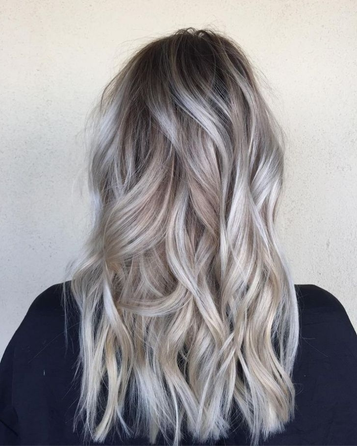 Hair Coloring Inspirational Using Fabulous Ash Blonde Highlights On Pertaining To Feathered Ash Blonde Hairstyles (View 20 of 25)