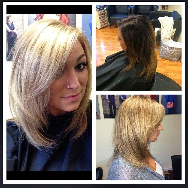 Hair Cut Colored & Styledamber Hall (View 12 of 25)