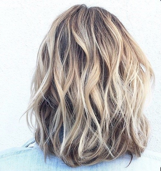 Hair Highlights – Neutral Pale Blonde Highlights And Lowlights Throughout Pale Blonde Balayage Hairstyles (View 4 of 25)