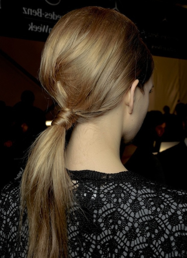 Hair How To: 8 Wrapped Ponytails For Wrapped Up Ponytail Hairstyles (View 8 of 25)