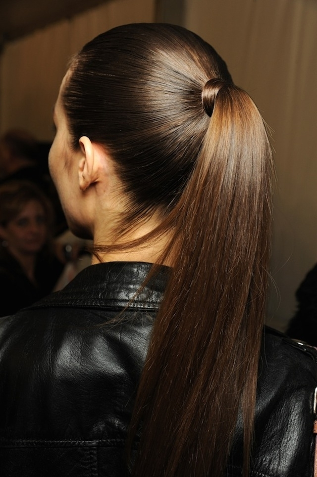 Hair How To: 8 Wrapped Ponytails Pertaining To Wrapped Up Ponytail Hairstyles (View 4 of 25)