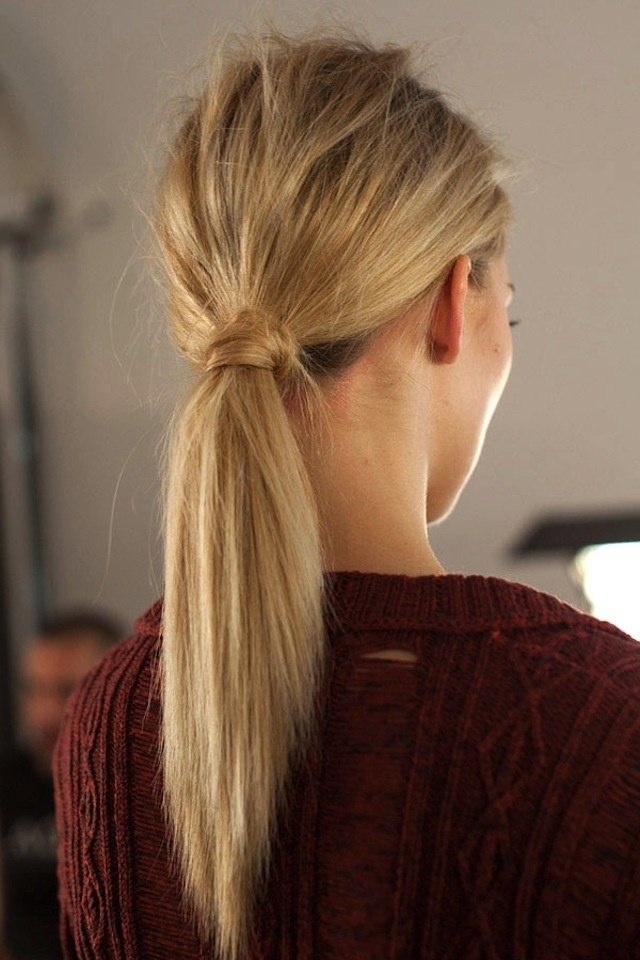 Featured Photo of Wrapped Up Ponytail Hairstyles