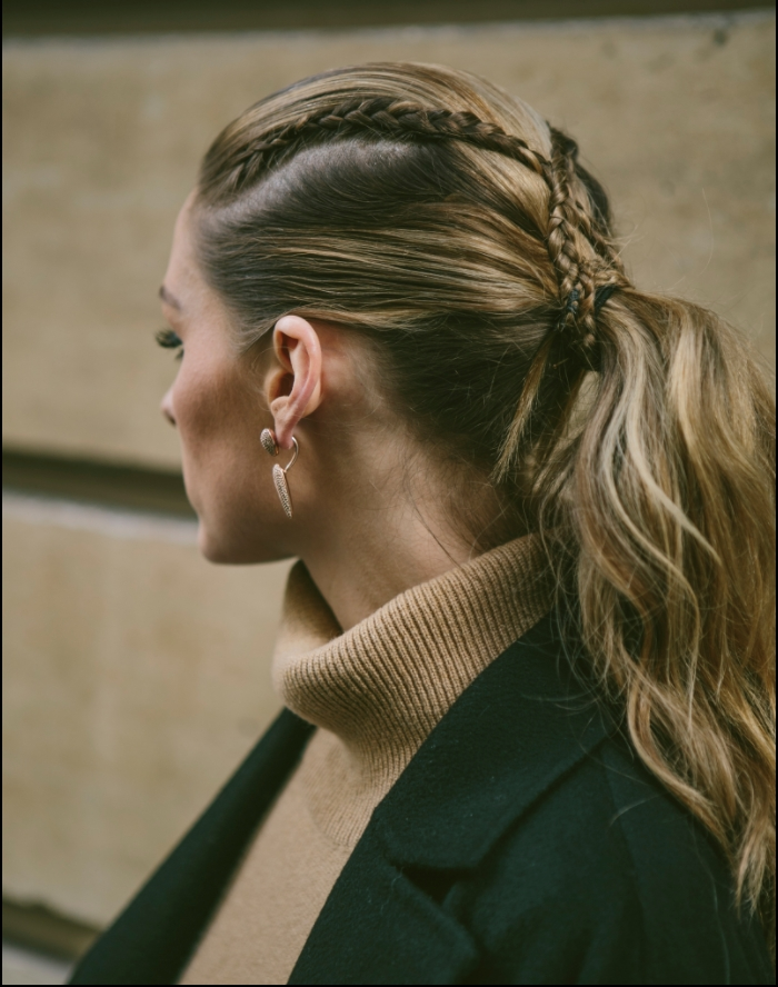 Hair How To: Criss Cross Ponytail | Olivia Palermo With The Criss Cross Ponytail Hairstyles (View 18 of 25)