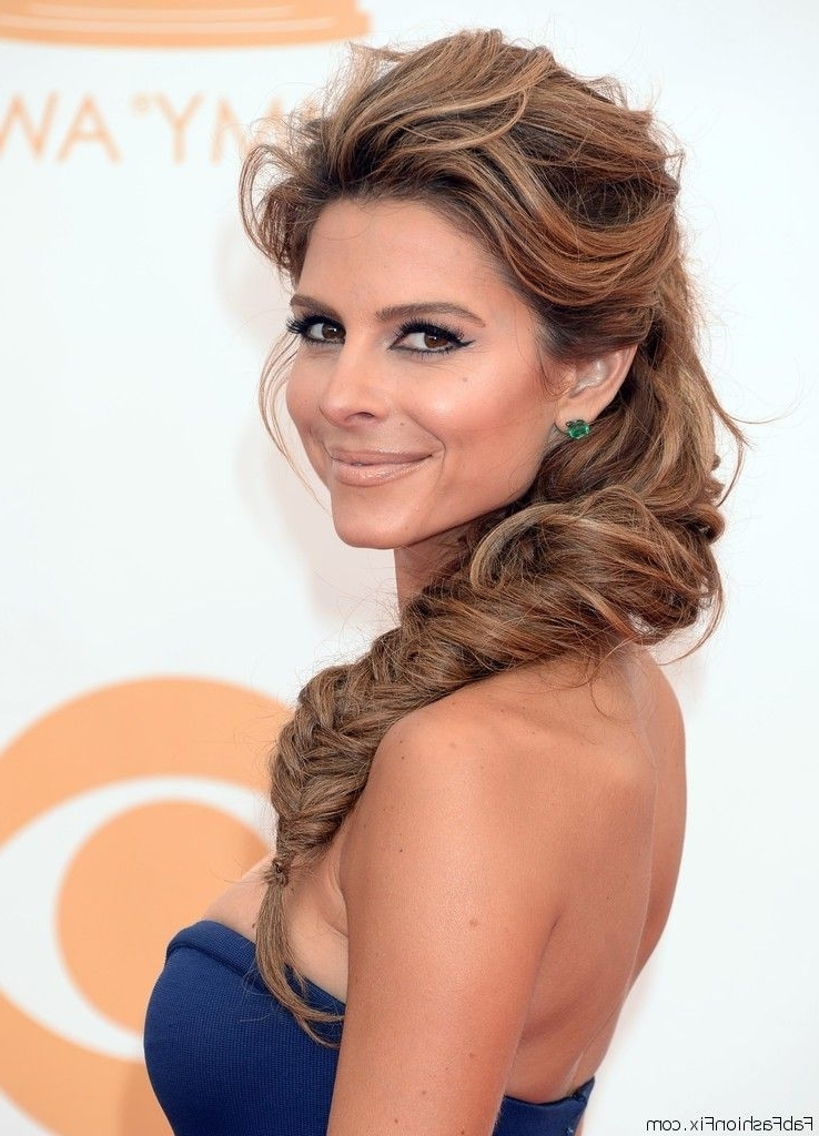 Hair: How To Rock Fishtail Braid Hairstyle? Learn From Celebrities Inside Wispy Fishtail Hairstyles (View 22 of 25)