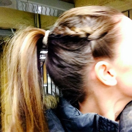 Hair Ideas: How To Make This Braided Ponytail Into A Perfect Date Inside Braided Millennial Pink Pony Hairstyles (View 14 of 25)