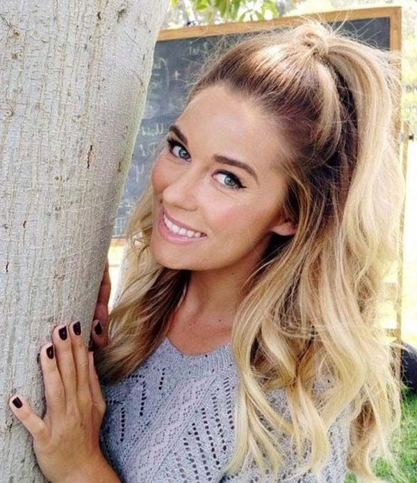 Featured Photo of Midi Half Up Half Down Ponytail Hairstyles