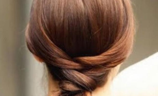 Hair Tutorial: The Criss Cross Ponytail – All 4 Women Inside The Criss Cross Ponytail Hairstyles (View 19 of 25)
