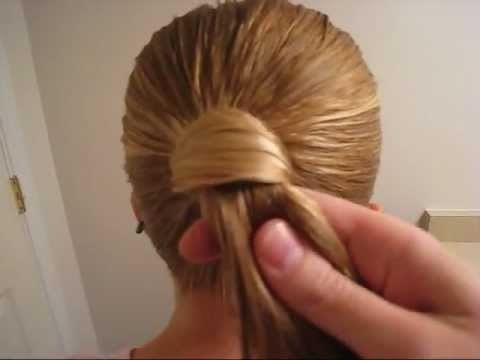 Hair Wrapped Ponytail | Tips & Tricks | Babesinhairland – Youtube Throughout Wrapped Up Ponytail Hairstyles (View 3 of 25)