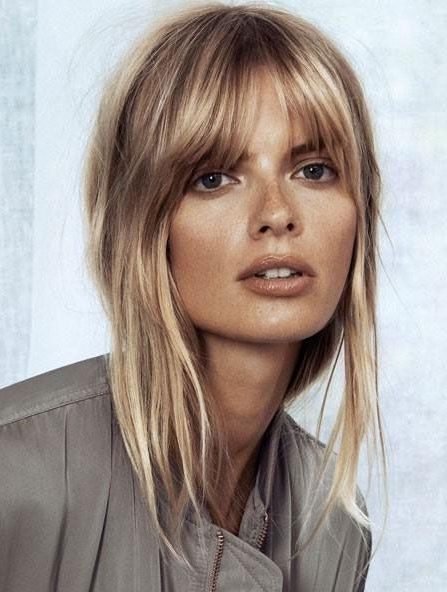 Hairstyle Best   Bangs Hairstyles Layered   Pinterest   Haircuts Throughout Soft Layers And Side Tuck Blonde Hairstyles (View 14 of 25)