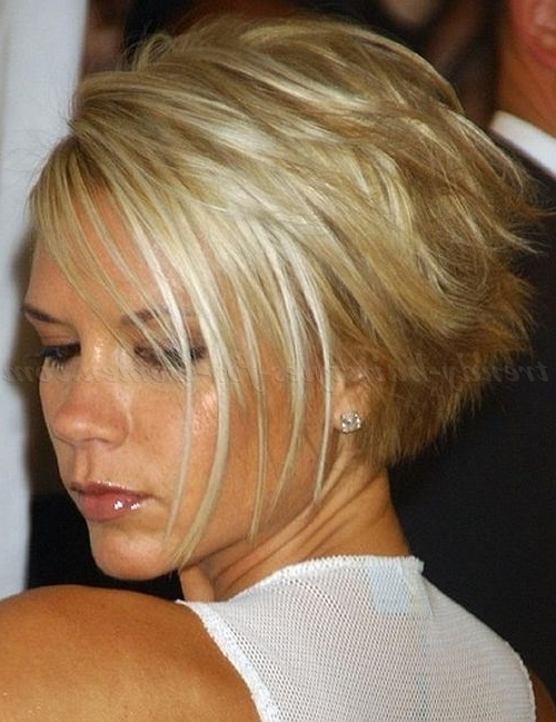 Hairstyle: Delightful Victoria Beckham Short Hairstyles Tahun (2018 Intended For Posh Bob Blonde Hairstyles (View 9 of 25)