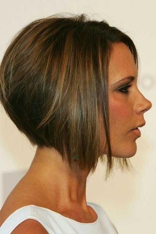 Hairstyle: Delightful Victoria Beckham Short Hairstyles Tahun (2018 Pertaining To Posh Bob Blonde Hairstyles (View 25 of 25)