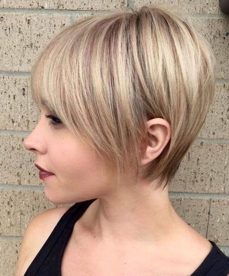 Hairstyle: Excellent Short Hairstyles For Fine Straight Hair For 2018 Soft Pixie Bob Haircuts For Fine Hair (View 22 of 25)